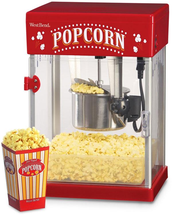 Popcorn uns Zuckerwatte